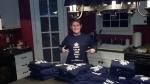 Me, shipping t-shirts...nationwide!!