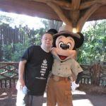 Brandon and Mickey at Disney World!!