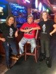 Maritza, Rudy and Sandy at Rudy's Grill and Cantina, Cypress, TX.