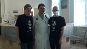 Jeff, Dr. Fedorenko and Tammy