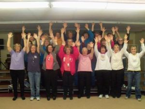 The Altoona Chorus Wave!!