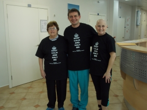 Me, Mom & Dr. Fedorenko...HALTING MS!!!