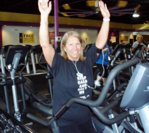 Patty Chwatek, keeping the wave going at Planet Fitness