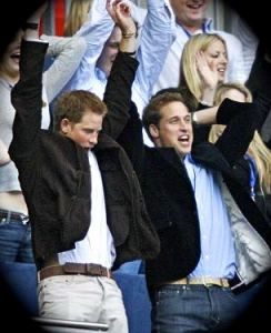 William & Harry, wherever they want to be!