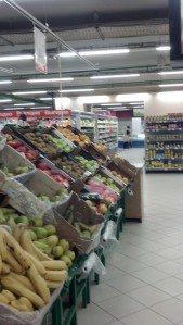 The grocery store at the AST Mall.