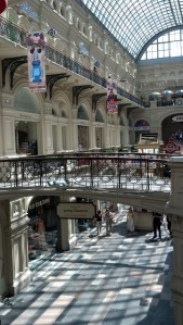 GUM Mall, Moscow.
