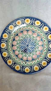 One of my purchases.  A Turkish platter.