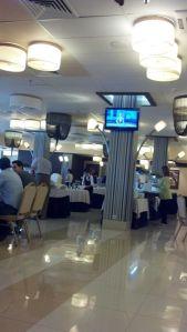 One of the many restaurants at Best Western Vega Ru